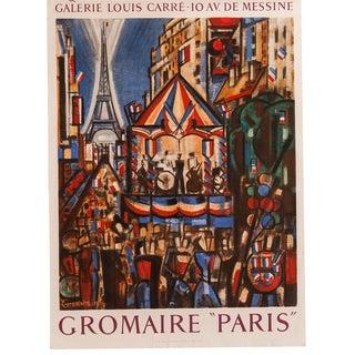 Mid-Century Paris Poster by Marcel Gromaire