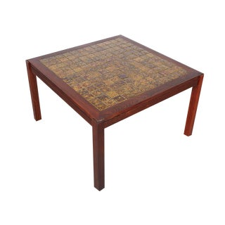 Rosewood Square Coffee Table / Side Table