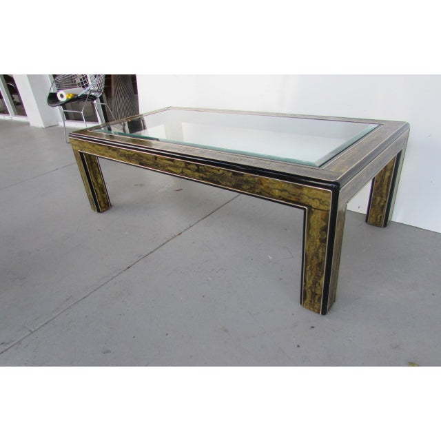Acid Etched Coffee Table by Bernhard Rohne - Image 3 of 3