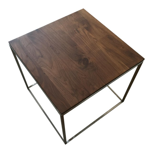 Image of CB2 Square Frame Side Table