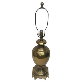 Ethan Allen Brass Urn Table Lamp
