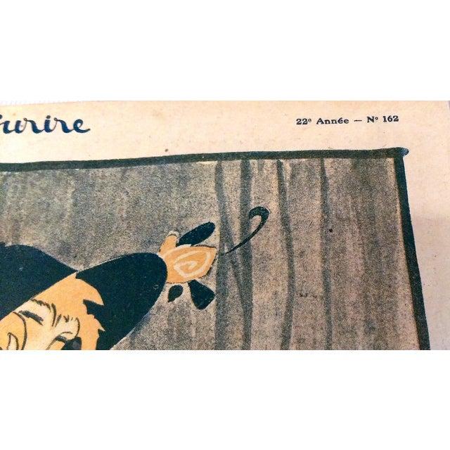 "Original 1920 ""En Promenade"" Fashion Print - Image 4 of 9"