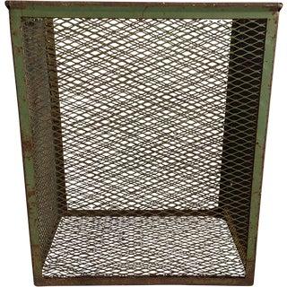 Vintage Iron Mesh Basket