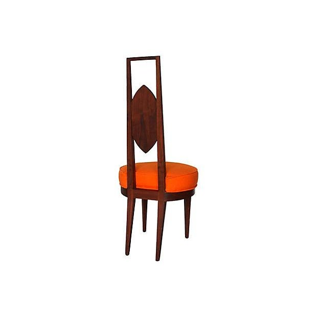 Mid-Century Modern Dining Chairs - Set of 4 - Image 4 of 5
