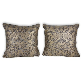Fortuny Square Pillows - A Pair