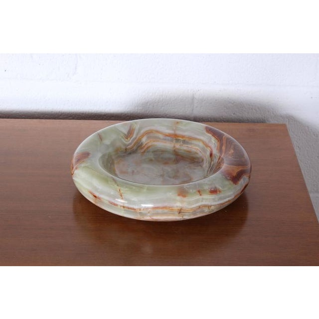 Image of Large Onyx Bowl by Sergio Asti