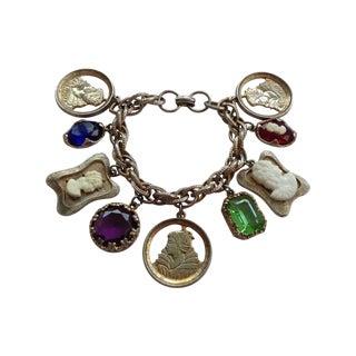 Byzantine Style Charm Bracelet