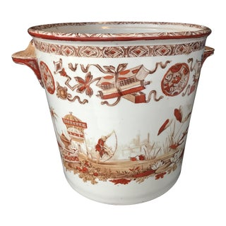 Japanese Porcelain Export Ice Bucket