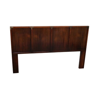 Campaign-Style Queen/Full Size Headboard