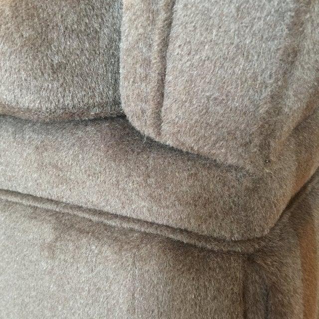 Knoll Brown Mohair Sofa - Image 6 of 7