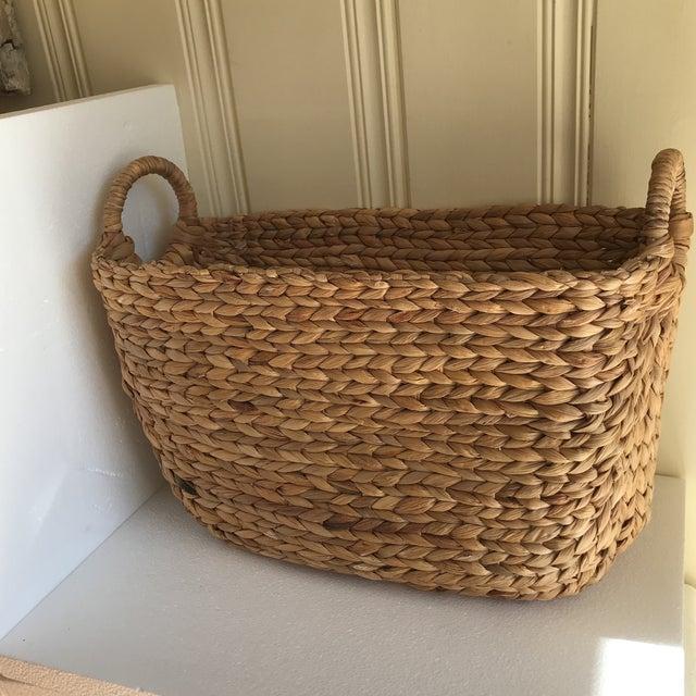 Boho Seagrass Rope Basket - Image 2 of 8