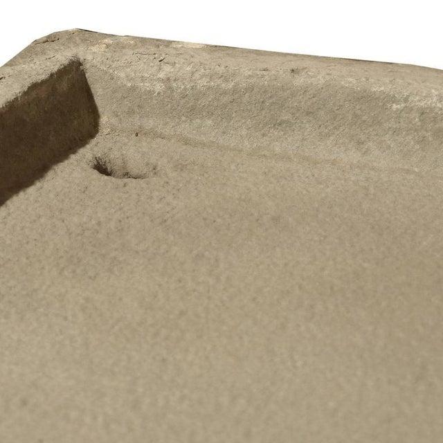 Italian Carved Stone Drain Board - Image 4 of 4