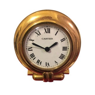 Vintage 1996 Cartier Desk Clock