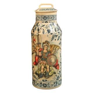 South American Ceramic Covered Jar