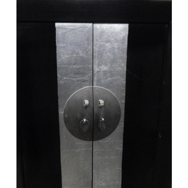 Image of Black Lacquer Armoire