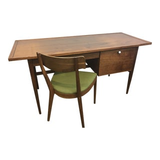 Drexel Declaration Desk & Chair - A Pair