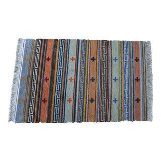 Tibetan Handwoven Traditional Rug - 1′9″ × 2′9″