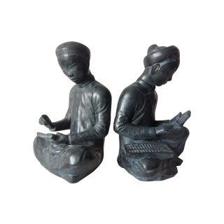 Austin Productions Asian Scholar Bookends - Pair