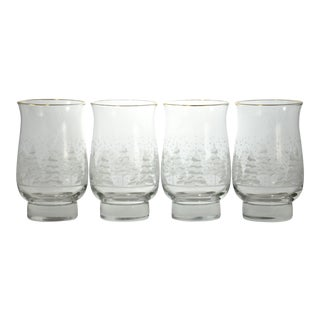 Winter Frost Tumblers - Set of 4