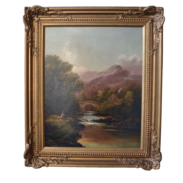 Francis Sydney Muschamp Oil on Canvas - Image 1 of 3