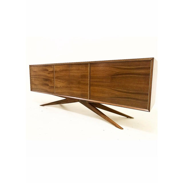 Brass Accent Credenza - Image 4 of 6