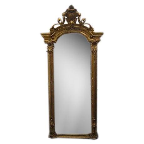 19th C. Gold Gilt Pier Mirror - Image 1 of 7