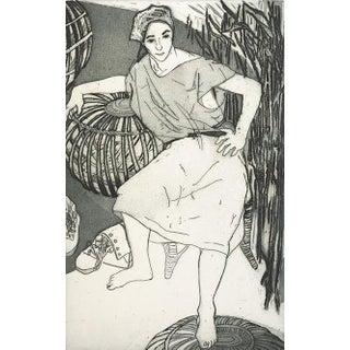 """Michelle & Bamboo"" Print"
