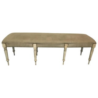 19th Century Gustavian Bench