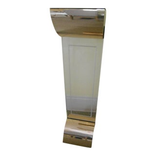 Lucite Display Column Floor Light