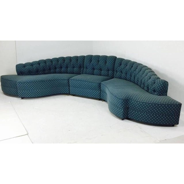1930's Regency Sectional With Ottoman - A Pair - Image 4 of 7