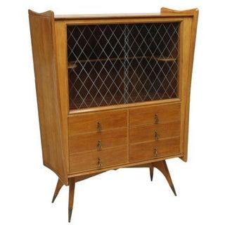 Melchiorre Bega Oak Bar Cabinet