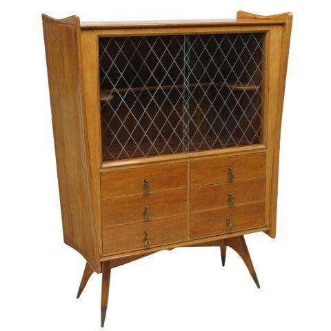 Melchiorre Bega Oak Bar Cabinet - Image 1 of 4