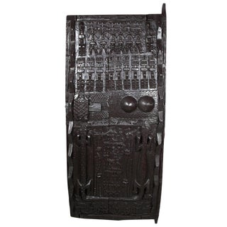 African Carved Wooden Door