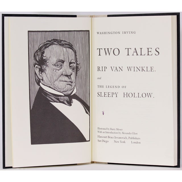 Hawthorne and Irving, 2 Moser Illustrated Volumes - Image 6 of 8
