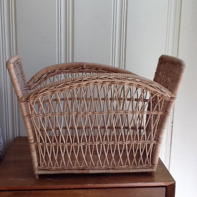 Natural Wicker File Basket - Image 6 of 8