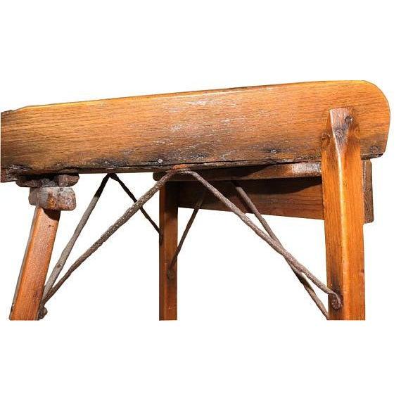 Antique Primitive Dough Rolling Table - Image 4 of 5