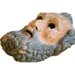 Image of Antique 19th Century Italian Carved Figure/Mask