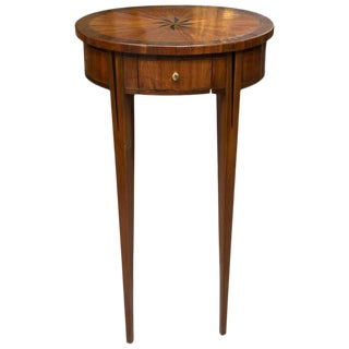19th Century Oval Kingwood Louis XVI Occasional Table