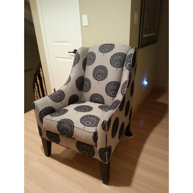 Funky Queen Anne Chair from Ethan Allen - Image 3 of 3