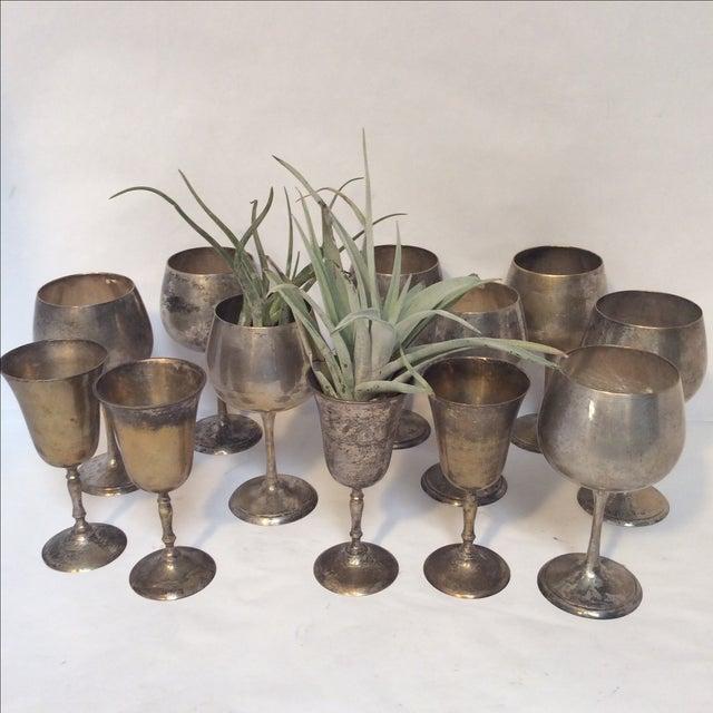 Vintage Silverplate Goblets - Set of 12 - Image 8 of 10