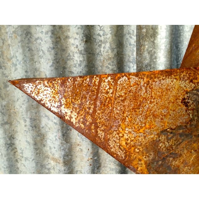 Handcrafted 3D Metal Star - Image 5 of 10