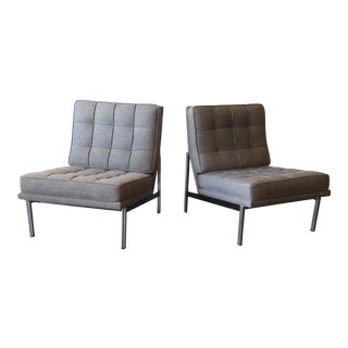 Florence Knoll Parallel Bar Chairs - A Pair