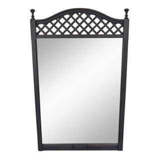 Vintage Distressed Graphite Mirror