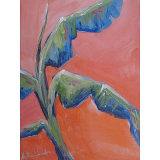 Miami Banana Tree Acrylic Painting