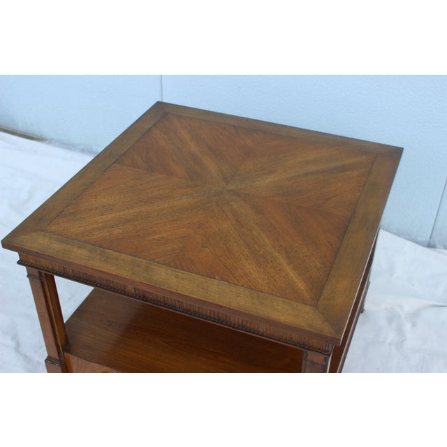 1960s Baker Tiered Nightstands - A Pair - Image 7 of 9