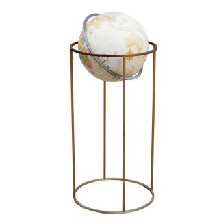 Paul McCobb Vintage Brass Globe