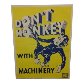 Vintage South African Safety Poster