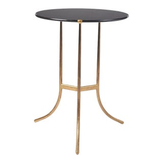 Cedric Hartman Black Granite AE Small Table, 1973