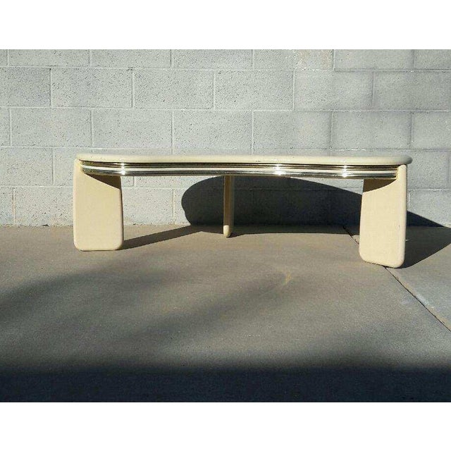 Vintage Institute of Design Biomorphic Coffee Table - Image 2 of 6