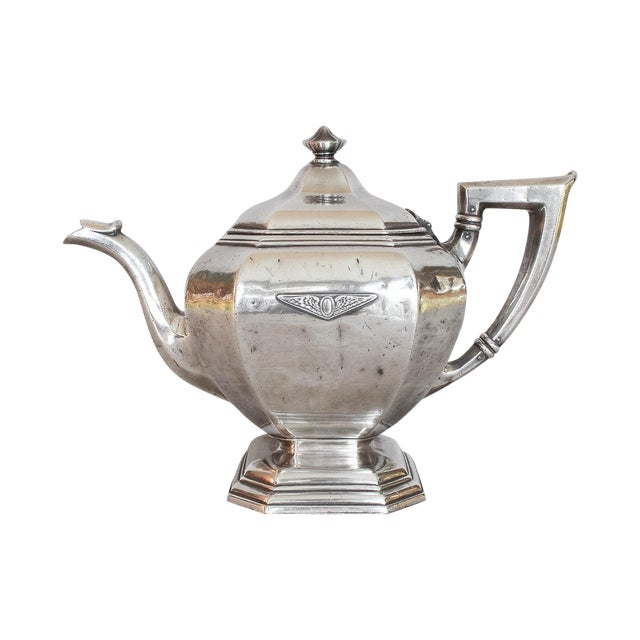 Image of Olympic Club, SF Hotelware Teapot by Gorham